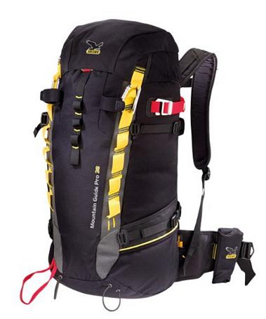 Купить Рюкзак Salewa Mountaineering Guide 38 Pro black/yellow Рюкзаки туристические 766617