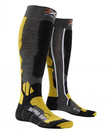 Купить Носки X-Bionic 2016-17 X-SOCKS SKI PRO-SOFT G228 / Серый, Носки, 1277679
