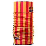 БанданаАксессуары Buff ®<br><br>Яркая многофункциональная бандана из серии Polar Buff® изготовлена из тончайшего полиэстера и мягкого флиса Polartec® Classic fleece® и имеет треугольный край. Бандану можно носить в качестве маски, повязки, шейного платка, шарфа и даже лыжной банданы, закрывающей шею и уши. Отличный вариант для любого времени года.Теплая бандана с одной стороны изготовлена из мягкого и тонкого флиса, с другой из однослойного полиэстера с нанесением узора. Также при надевании банданы на лицо вы обнаружите специальные вентиляционные отверстия для более комфортного дыхания - получится маска-бандана. Данный тип ярких универсальных бандан для сноуборда популярен в среде фрирайдеров и ньюскульщиков. <br>Технология Polygiene для сохранения свежести, даже когда вы вспотеете. <br>Ручная или машинная стирка при температуре не более 40 градусов. Не гладить.