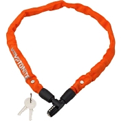 Замок велосипедный Kryptonite Cables KEEPER 465 KEY CHAIN 4x65CM-ORANGE