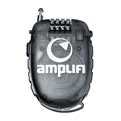 Замок Amplifi 2017-18 Wire Lock (Large) clear black