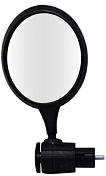 "Зеркало Oxford 2020 Bar-End 3"" Round Mirror Black"