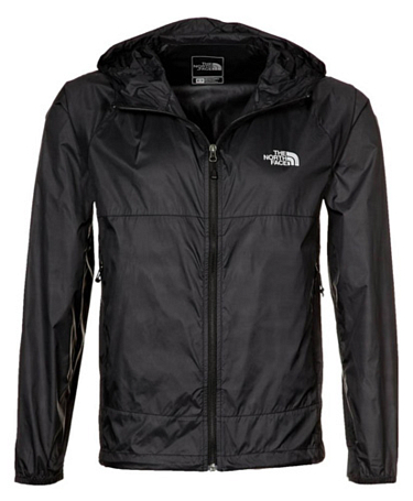 Куртка туристическая THE NORTH FACE 2012 T0AREW M FLYWEIGHT HOODIE (Black) черный