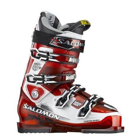 Купить Горнолыжные ботинки SALOMON 2012-13 IMPACT 100 CS Rd/Wi Ботинки горнoлыжные 814150