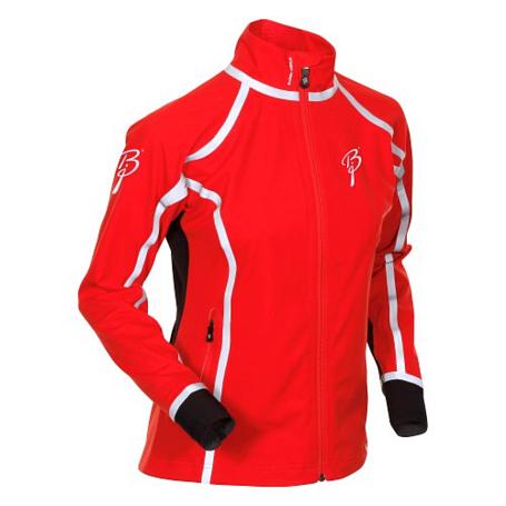 Купить Куртка беговая Bjorn Daehlie Jacket OLYMPIC Women Formula One/Black/Silver (красный/черный) Одежда лыжная 775519