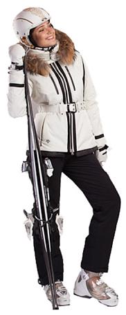 Купить Куртка горнолыжная DESCENTE 2012-13 AUDREY Ivory white белый Одежда 824084