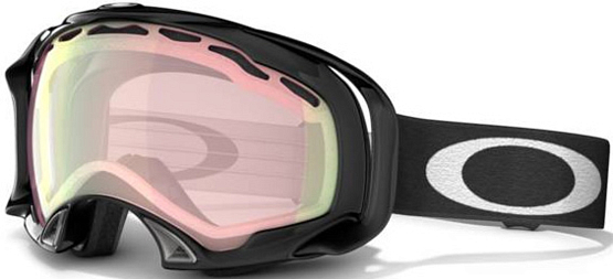 Купить Очки горнолыжные Oakley Splice jet black/vr50 pink iridium 705534