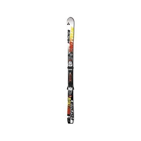Купить Горные лыжи с креплениями FISCHER 2013-14 Motive 74 Powerrail+RS10 Powerrail черн./бел. 903197