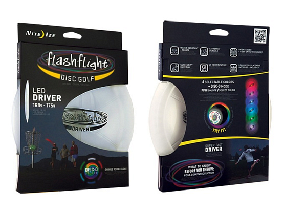 Летающий диск Nite Ize FlashFlight Golf Disc-Driver