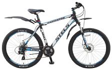 ВелосипедКолеса 26 (стандарт)<br>Navigator 810 Disc &amp;nbsp;- это прочная и популярная веломодель для стремительного катания, как по спокойной местности, так и по пересечённой. Эта модель порадует своими техническими характеристиками каждого велофаната. Задний переключатель SHIMANO Altus, мягкая вилка SR SUNTOUR с ходом 100 мм., дисковые тормоза NOVELA TEKTRO. Отличительными чертами данной модели являются динамичность, стремительность, износоустойчивость.<br> <br> Рама и амортизаторы<br> <br> Рама: алюминий<br> Вилка: XCM, SR SUNTOUR, ход 100мм<br> <br> Цепная передача<br> <br> Манетки: ST-EF65, SHIMANO, Acera<br> Передний переключатель: FD-TX50, SHIMANO Tourney<br> Задний переключатель: RD-M280, SHIMANO Altus<br> Шатуны: SR SUNTOUR, сталь, 24/34/42 зуб.<br> Каретка: VP, картридж<br> Количество скоростей: 21<br> Педали: алюминий/сталь<br> <br> Колеса<br> <br> Обода: TAURUS2000, WEINMANN, алюминий, двойные<br> Bтулка: JOY TECH, алюминий<br> Покрышка: H-5166, CHAOYANG, 26x2.1, 30 TPI<br> <br> Компоненты<br> <br> Передний тормоз: NOVELA, TEKTRO, механический, ротор 160мм<br> Задний тормоз: NOVELA, TEKTRO, механический, ротор 160мм<br> Рулевая колонка: VP<br> Седло: Velo<br><br>Пол: Унисекс<br>Возраст: Взрослый