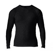 Комплект (футболка дл.рук. + брюки) MAIER 2014-15 Underwear 390020 black (чёрный)