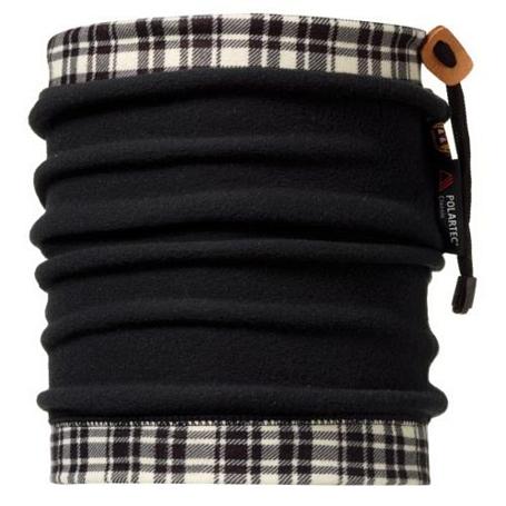 Купить Бандана BUFF NECKWARMER BUFFPOLAR FLEECE BAXTER BLACK Банданы и шарфы Buff ® 842170