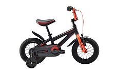 Велосипед Merida Dino J12 2016 Matt Black/red
