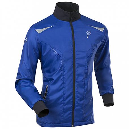 Купить Куртка беговая Bjorn Daehlie JACKET/PANTS Jacket LEVEL Surf the Web/Black (Синий/черный) Одежда лыжная 1103232