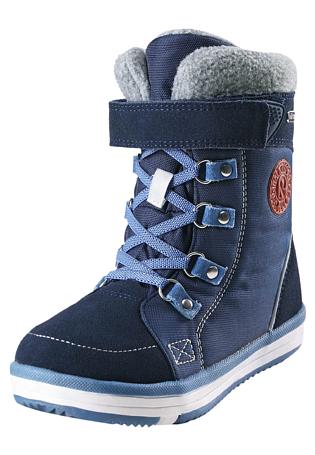 Купить Ботинки городские (высокие) Reima 2017-18 Freddo Navy Зимняя обувь 1362105