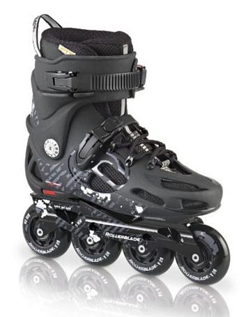Купить Роликовые коньки Rollerblade 2014 TWISTER 80 BLACK/ANTHRACITE Ролики взрослые 904818