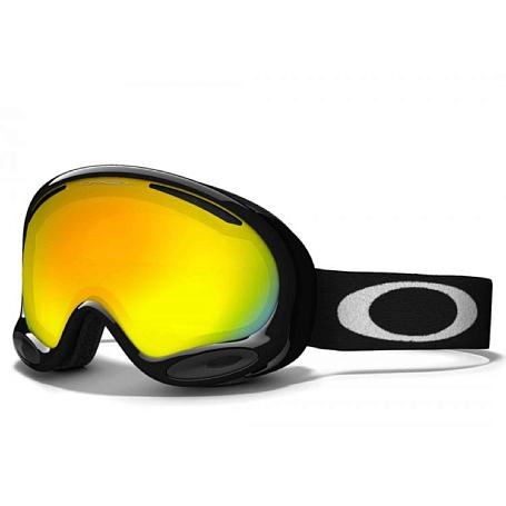 Купить Очки горнолыжные Oakley AFRAME 2.0 JET BLACK FIRE IRIDIUM 1137570