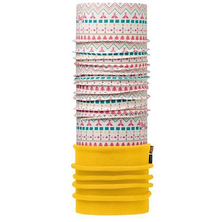 Купить Бандана BUFF CHILD POLAR TIPI MULTI /YELLOW-MULTI-Standard Детская одежда 1228053