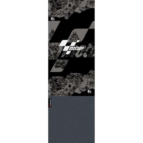 Бандана BUFF TUBULAR POLAR BUFF MOTO GP BLACK RACE GREY