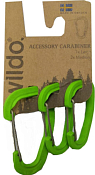 Набор карабинов Wildo 2019 Accessory carabiner set of three для аксессуаров WILDO apple