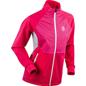 Куртка беговая Bjorn Daehlie 2019-20 Jacket Colorado Wmn Bright Rose