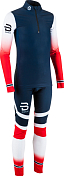 Комплект беговой Bjorn Daehlie 2017-18 Racesuit Nations 2-Piece Jr Norwegian Flag