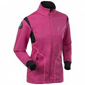������ ������� Bjorn Daehlie JACKET/PANTS Jacket CROSSER Women Beetroot Pink/Black/Knockout Pink (�������/������/�������)