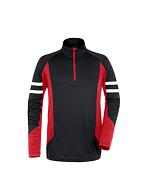 Флис горнолыжный MAIER 2014-15 MS Classic Aladin black/fire (чёрный/красный)
