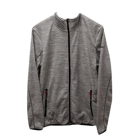 Купить Флис для активного отдыха GTS 2017-18 HERREN Strickfleece Hoodie grey Одежда туристическая 1366457