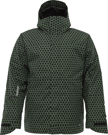 Куртка сноубордическая BURTON 2011-12 Men's burton outerwear LAUNCH INSULATED JACKET ASTROTURF DOT MATRIX