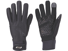 Перчатки велосипедныеПерчатки, варежки<br><br>                Облегченные эластичные перчатки. Тонкие, но сверхпрочные.<br>                Ветрозащитная дышащая мембрана сохраняет руки в тепле в холодную погоду.<br>                Гелевая подкладка на ладони для максимального комфорта.<br>                Большой и указательный пальцы работают с экранами смартфонов.<br>                Вставка для удаления влаги на большом пальце.<br>                Удлиненные манжеты с застежкой велькро.<br>                Большой и указательный пальцы усилены материалом Amara.<br>                <br>