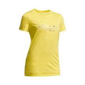 ФутболкаОдежда для активного отдыха<br>Женская футболка для активного отдыха<br> <br> - Материал: 150 (87% шерсть мериноса, 13% нейлон) Легкий, мягкий, устойчивый к образованию неприятных запахов эффективно отводит влагу. Нейлон обеспечивают идеальную посадку и износостойкость.<br> - Шерсть мериносовых овец обладает уникальными теплоизолирующими свойствами и будет вас согревать, даже если намокнет.<br> - Ворот с круглым вырезом.<br> - Все швы плоские исключают натирание.<br> - Покрой: свободный.