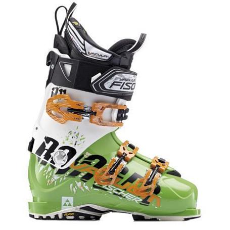 Купить Горнолыжные ботинки FISCHER 2013-14 Soma Vacuum Ranger 11 зел./бел., Ботинки горнoлыжные, 904034