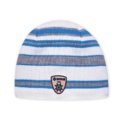 ШапкаГоловные уборы<br>Теплая шапка, с внутренней стороны изделия флисовая повязка для лучшего сохранения тепла.<br>Состав: 45% мериносовая шерсть, 55% акрил<br>Цвет: белый