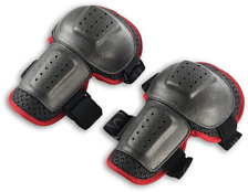 Защита колена NIDECKER 2016-17 Knee guards black/red