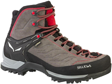 Ботинки Salewa MS MTN TRAINER MID GTX Charcoal/Papavero