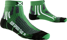 Носки X-bionic 2016-17 X-socks Run Speed Two E037 / Зеленый