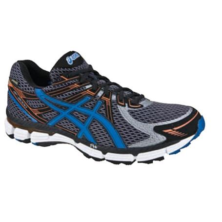 Купить Беговые кроссовки элит Asics 2013-14 GT-2000 G-TX серый/голубой/оранжевый, Кроссовки для бега, 918382