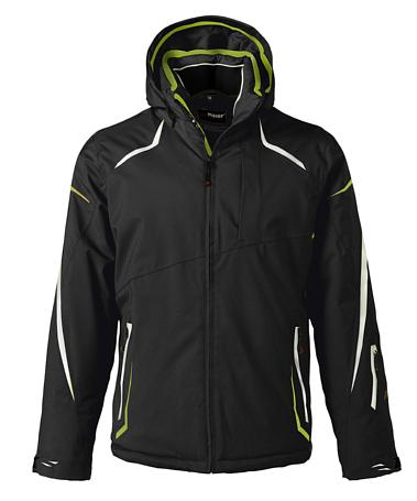 Купить Куртка горнолыжная MAIER 2013-14 Allrounder Ski Parry black/macaw green (чёрный/салатовый) Одежда 1022169