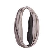 ШарфШарфы<br>Мягкий летний шарф-снуд градиентного окрашивания.Размер: диаметр 22,8смМатериал: 100% органический хлопок