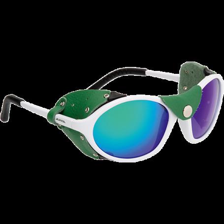 Купить Очки солнцезащитные Alpina 2018 SIBIRIA white-green, Оптика альпинистская, 1225963