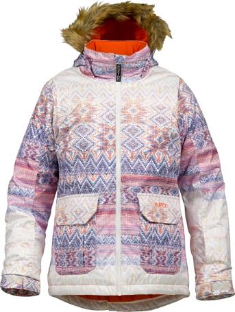 Купить Куртка сноубордическая BURTON 2013-14 GIRLS WILLOW JK FADED FAIR ISLE Детская одежда 1021729