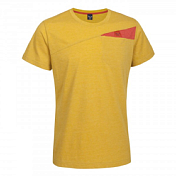 Футболка для активного отдыхаОдежда для активного отдыха<br>Дышащая эластичная в двух направлениях футболка из органического хлопка с нагрудным карманом