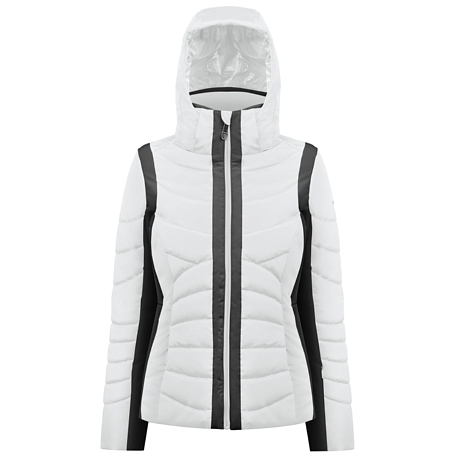 Купить Куртка горнолыжная Poivre Blanc 2017-18 W17-1004-WO white/black, Одежда горнолыжная, 1368218
