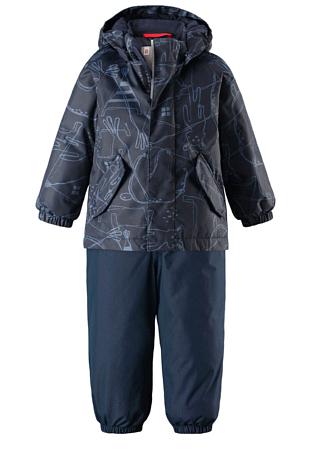 Купить Комплект горнолыжный Reima 2017-18 Reimatec® winter set, Olki Navy Детская одежда 1351840