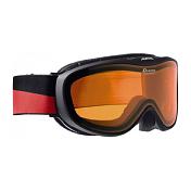 Очки горнолыжныеОчки горнолыжные<br>Лёгкая и очень удобная горнолыжная маска с отличным обзором. Уменьшенная версия популярной модели Alpina Challenge 2.0! В маске сипользуется двойная линза ориентированная на примение в условиях переменной облачности и в пасмурную погоду без осадков.<br><br>• 100% защита от УФ А-В-С до 400 нм<br>• Гибкая и комфортная оправа&amp;nbsp;&amp;nbsp;плотно и равномерно прилегает к лицу<br>• Шарнирные проушины для ремешка позволяют надёжно и комфортно зафиксировать маску на любом, даже очень массивном шлеме <br>• Антифог покрытие снижает риск запотевания маски<br>• По контуру оправы расположены вентиляционные порты<br>• Объём маски позволяет использовать её вместе с корректирующими очками. В уплотнителе предусмотрены углубления для их дужек&amp;nbsp;&amp;nbsp;&amp;nbsp;&amp;nbsp;<br><br>Категория защиты линз: 2 категория
