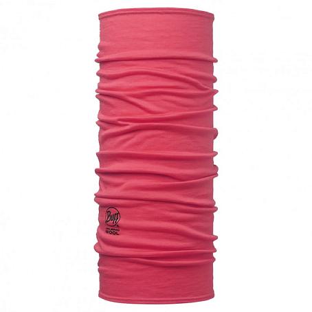 Купить Шарф BUFF Wool Plain MERINO WOOL SOLID PINK HIBISCUS Банданы и шарфы Buff ® 1263370