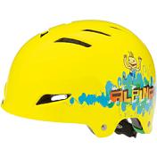 Летний шлемВелосипедные шлемы<br>Отличный шлем для паркового катания.<br>Жесткая пластиковая скорлупа устойчива к многократным ударам, свежая графика и съёмный козырёк. <br>Технологии: Сeramic shell, Run System Classic<br>Кол-во вентиляционных отверстий: 12<br><br><br>Пол: Унисекс<br>Возраст: Детский