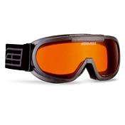 Очки горнолыжныеОчки горнолыжные<br>Двойная линза из поликарбоната надёжно защищает глаза от снега, ветра, ультрафиолета. <br>Регулируемый стреп и совместимость со шлемом.Защита от запотеванияСистема вентиляции