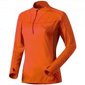 Футболка беговаяОдежда для бега и фитнеса<br>Технологичная футболка для горного бега<br> <br> -материал Thermocool выводит влагу наружу<br> -воротник на молнии<br> -сетчатые вставки для лучшей вентиляции<br> -антибактериальная технология Polygiene надолго сохраняет свежесть<br> -материал DRYTON THERMOCOOL SILVER 105 BS<br><br>Пол: Женский<br>Возраст: Взрослый